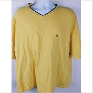 Tommy Hilfiger Men's Casual Shirt XXL Yellow